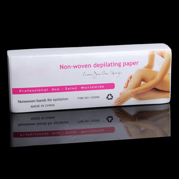 100pcs/lot Wax Strips For Hair Removal Depilatory Nonwoven Epilator Wax Strip Paper Roll Waxing Health Beauty Smooth Legs 2