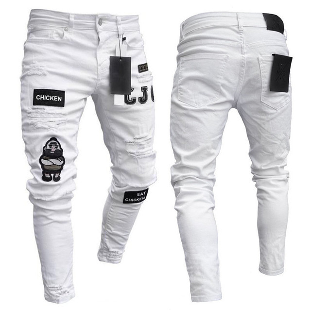 Ripped Jeans Super Skinny for Men 3