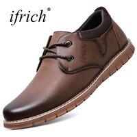 Formal Shoes Men Lace Up Adult Men Dress Shoes Leather Spring Platform Shoes Summer Comfortable Handmade
