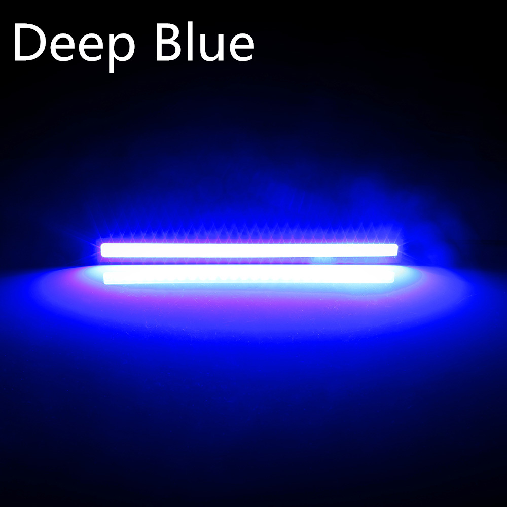 1 Pcs 17cm Waterproof Daytime Running Light COB DRL LED Car Lamp External Lights Auto Universal Car Styling Led DRL Lamp