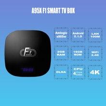 A95X F1 Android 8.0 Smart TV Box 2GB DDR3 RAM 16GB ROM Quad