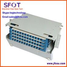 De fibra Óptica ODF 48 Core Caja. (no inlcude adaptador y cable flexible)