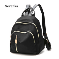 NEVENKA Ladies Casual Backpack Women Simple Style Shoulder Bag For Teenager Girl Daily School Bag Bao