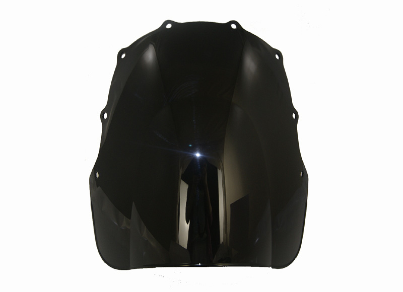 Motorcycle Double Bubble Windscreen Windshield Shield Screen For Kawasaki ZZR400 ZZR600 1993 2007 2006 2005 2004