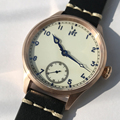 Uomini Vinage Cusn8 Bronzo orologi Bronzo meccanico Pilota orologio 50 m Water Resistant Relojes Vetro Zaffiro