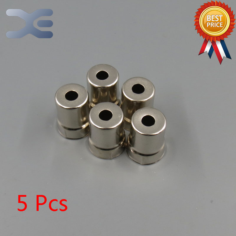 (5 Pieces/lot) Steel Cap Replacement Microwave Oven Magnetron 5 Pcs Silver Tone New Unused Microwave Oven Parts