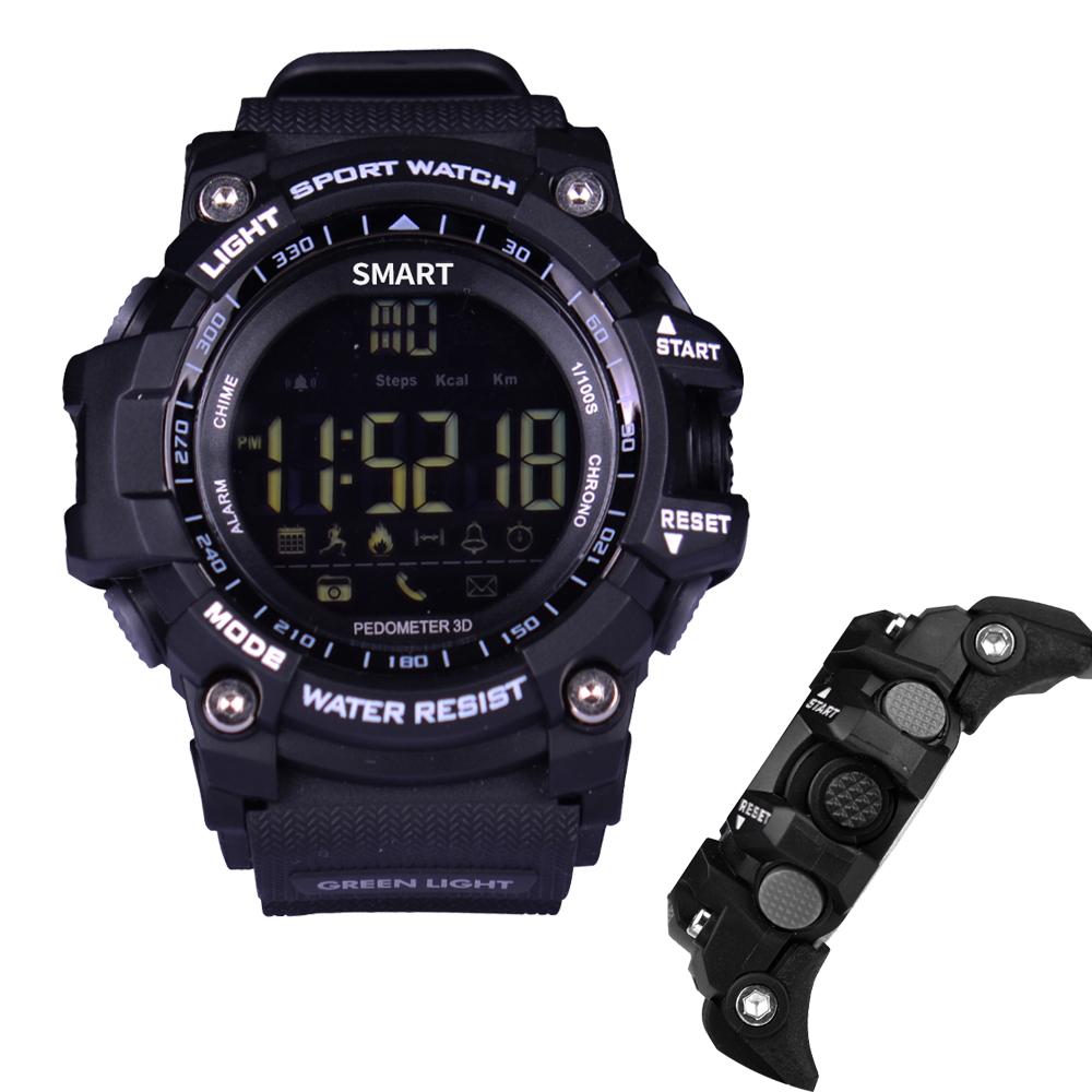 Prix pour 2017 NOUVEAU Smart Watch Montre-Bracelet EX16 Étanche IP67 Extérieure SmartWatch Podomètre Dispositif Portable pour iOSAndroid