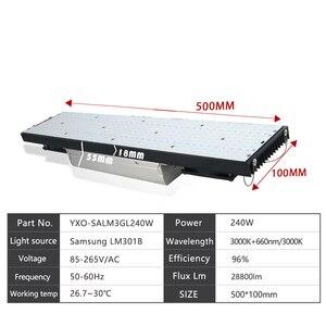 Image 4 - LED Grow Light BOARD LM301B 403 PCS ชิป Full Spectrum 240 W 1000 W Samsung 3000K,660nm สีแดง Veg/Bloom State Meanwell DRIVER