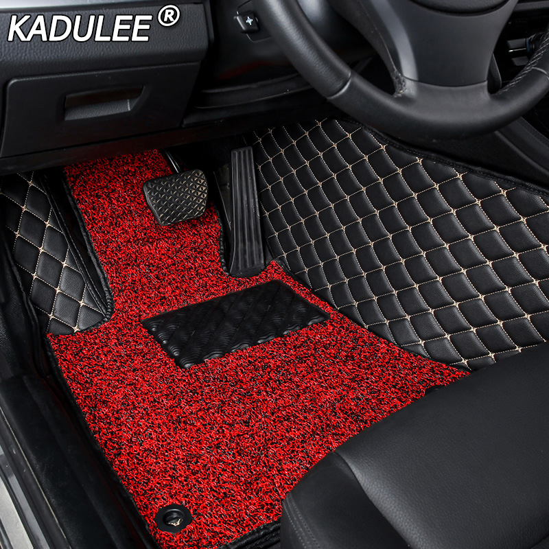 KADULEE car floor Foot mat For honda accord crv cr-v jazz fit city civic CRZ ODYSSEY custom floor mats car accessories stylingKADULEE car floor Foot mat For honda accord crv cr-v jazz fit city civic CRZ ODYSSEY custom floor mats car accessories styling