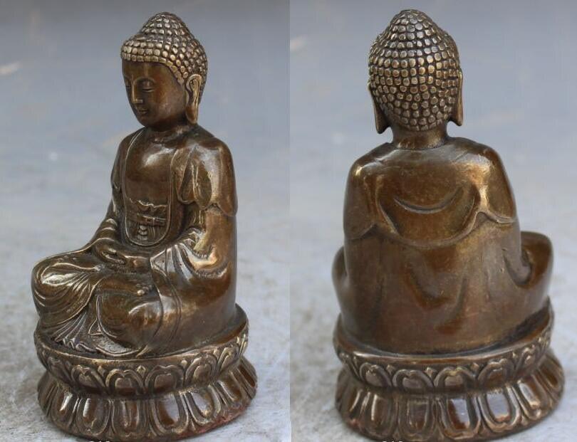 13cm Bronze Buddha 3