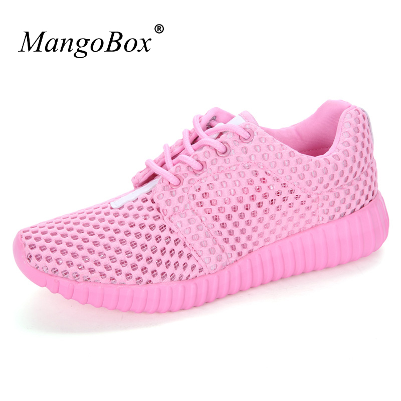 Men Mesh Running Shoes Eva Girls Pink Running Sneakers Breathable Summer Unisex Sport Trainers Size 35-46 Couples Shoes Walking Running Shoes Sports & Entertainment