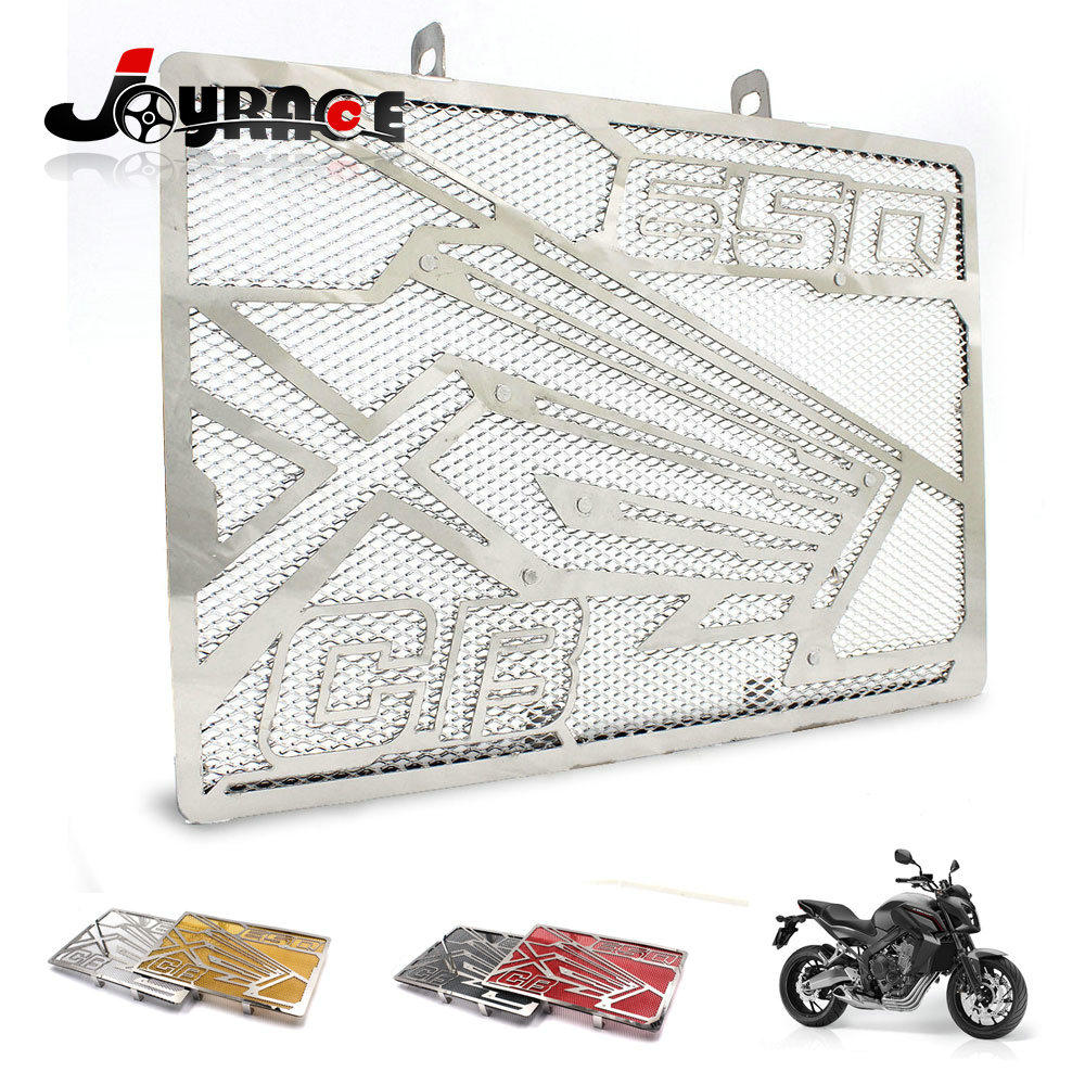 Stainless Steel Motorcycle Radiator Guard Grill Cover Guard for Honda CB650F 2014-2015 motorcycle radiator grill grille guard screen cover protector tank water black for bmw f800r 2009 2010 2011 2012 2013 2014