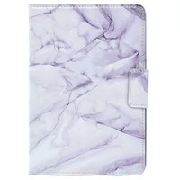 Marble Pattern PU Leather Flip Case For Apple IPad Mini Stand Cover Case For Funda Ipad