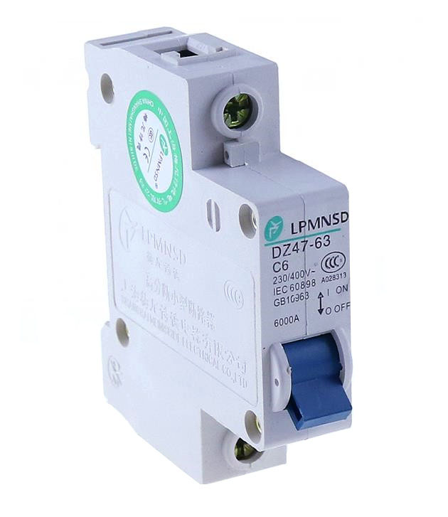 uxcell 2 Poles 25A 400V Low-voltage Miniature Circuit Breaker Din Rail Mount
