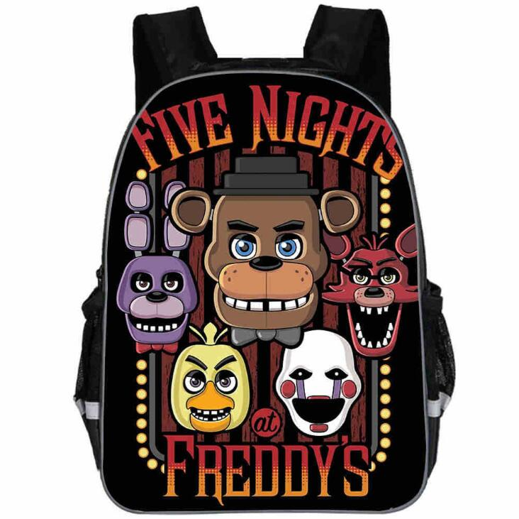 11-16 Five Nights At Freddys Backpack Children School Bags Backpack Kids Fnaf Kindergarten Bag Freddy Fazbear Bear Backpacks