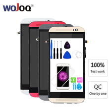 New 5.0'' LCD For HTC ONE M8 Display Touch Screen for 831c Display LCD Digitizer Assembly With Frame Replacement цена