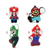 Cute Cartoon Super Mario pendrive USB Flash Drive USB Flash Drives