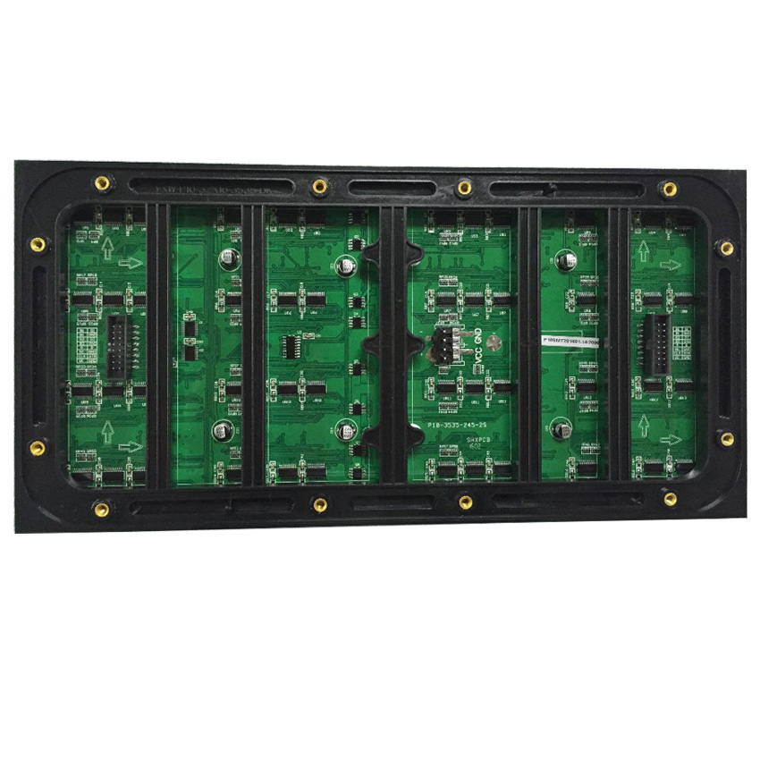 P10 Outdoor 1/2 Scan SMD3535 3in1 RGB Full Color LED Display Module 320*160mm 32*16 Pixels LED Screen Display