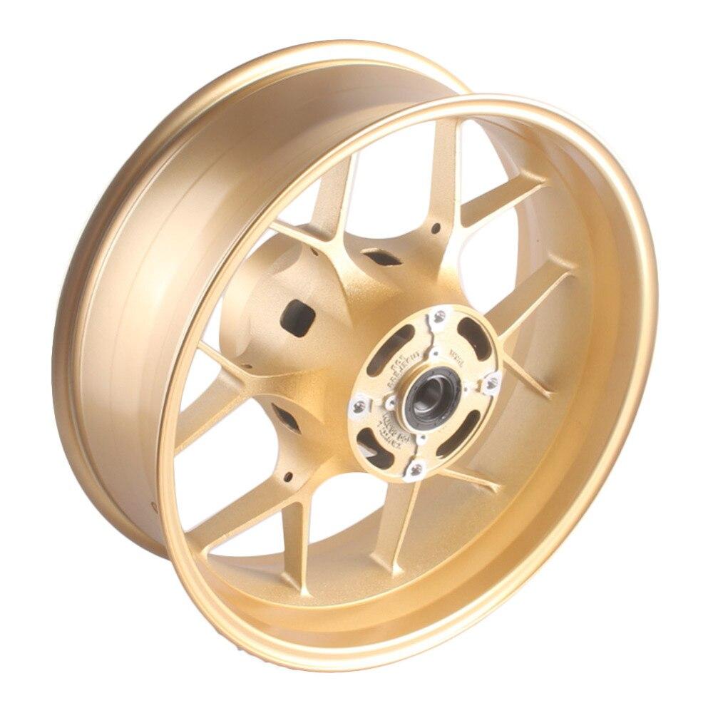 Motorcycle Rear Back Wheel Rim For Honda CBR1000RR CBR 1000 RR 2012 2013 2014 2015 2016 2017 Gold High Quality Aluminum Alloy