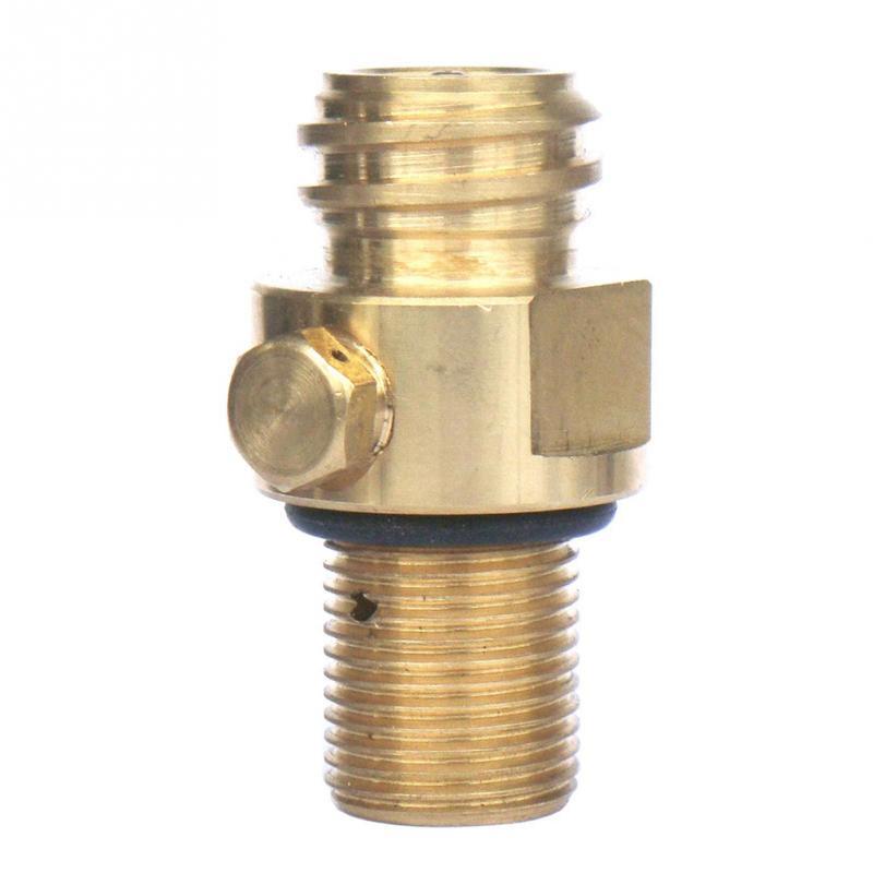 CO2 Tank Brass SodaStream Pin Valve Soda Water Inflation