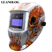New LED  Light AAA Battery+Solar Automatic Darkening Welding Mask/Helmet Face Mask Welder Goggles/Eye Protection Mask