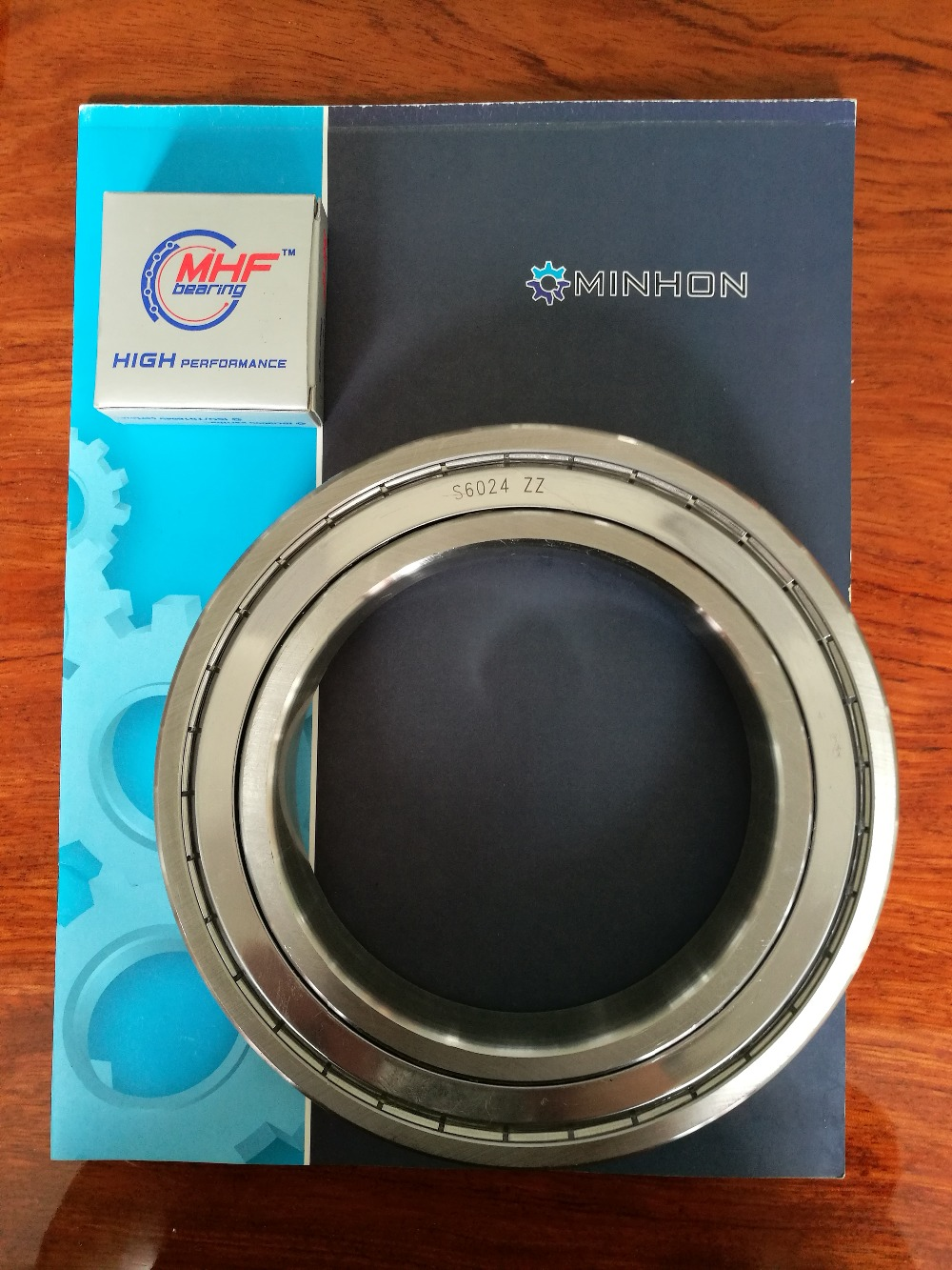 цена на Free Shipping 1pcs per lot SS6024ZZ 6024 MHF Miniature Bearings ABEC-3 Size 120x180x28 mm Good Price High Performance