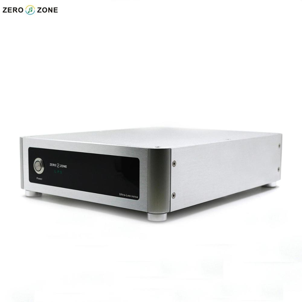 ZEROZONE HIFI 130W Ultra Low Noise DC Linear Power Supply 2 Way LPS (65W+65W) 100va ultra low noise lps hi end r core linear power supply 100w psu for audio dc5v 24v optional with display