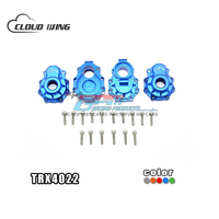 TRX 4 82056 4 Aluminum Alloy Rear knuckle Arms Wear Resistance Stable For RC Car Original Upgrade Parts RX4022