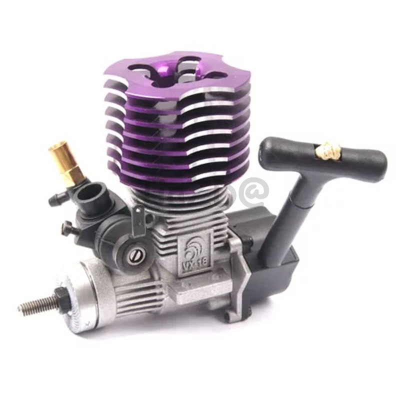 HSP 02060VX 18 Engine 2.74cc With Pull Starter For 1/10 1/8 RC Model Car Buggy Monster Bigfoot Truck For 94122/94177/94188