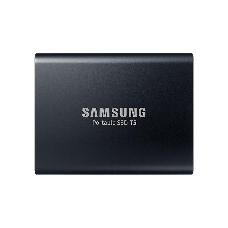 SAMSUNG T5 Portable SSD Externe 2 TO Disque SSD USB3.1 pour pc de bureau Portable Disque dur SSD HDD 100% D'origine