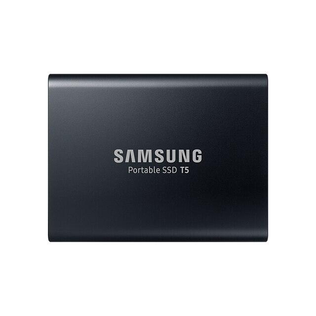 SAMSUNG T5 Taşınabilir SSD 2 TB Harici Katı Hal Sürücü USB3.1 Masaüstü Dizüstü PC için Sabit Disk SSD HDD 100% orijinal