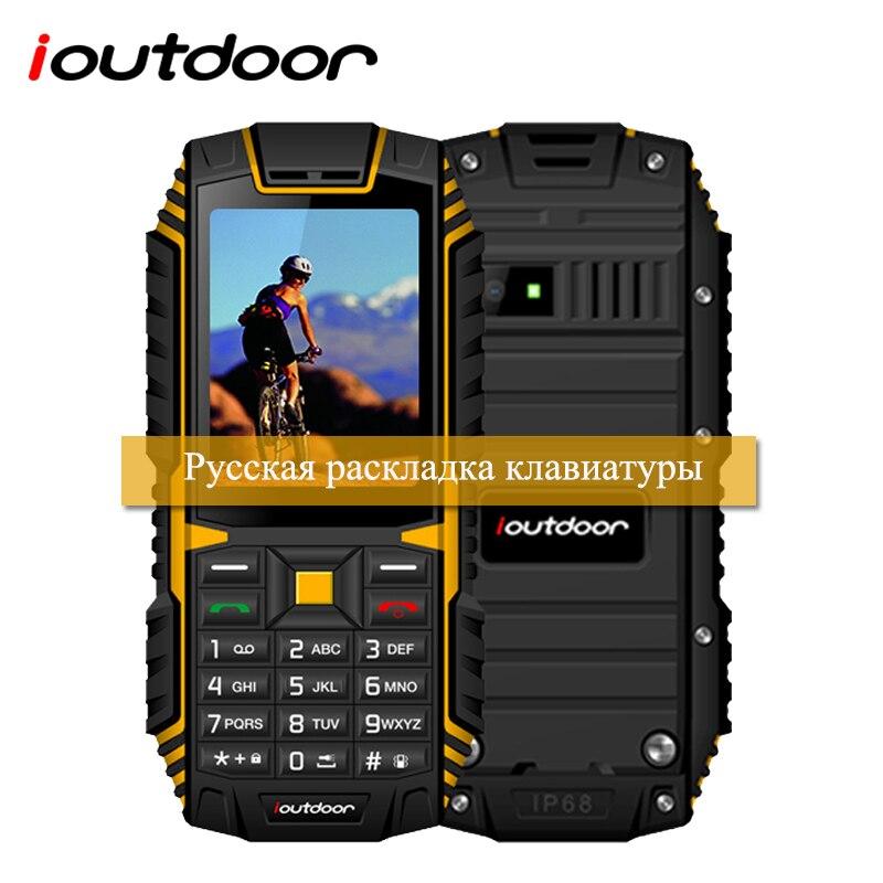 XGODY ioutdoor T1 2G Feature Phone IP68 Waterproof 2.4