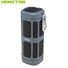 VENSTAR S400 Tragbare Bluetooth Lautsprecher 16 Watt Starke Subwoofer Fahrer Passive Kühler 6000 mAh Batterie für Outdoor Fahrrad Sport