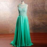 RSE192 Aqua Zielony Prom Dresses Śliczne Graduation Suknie Z Wyciętymi Plecami