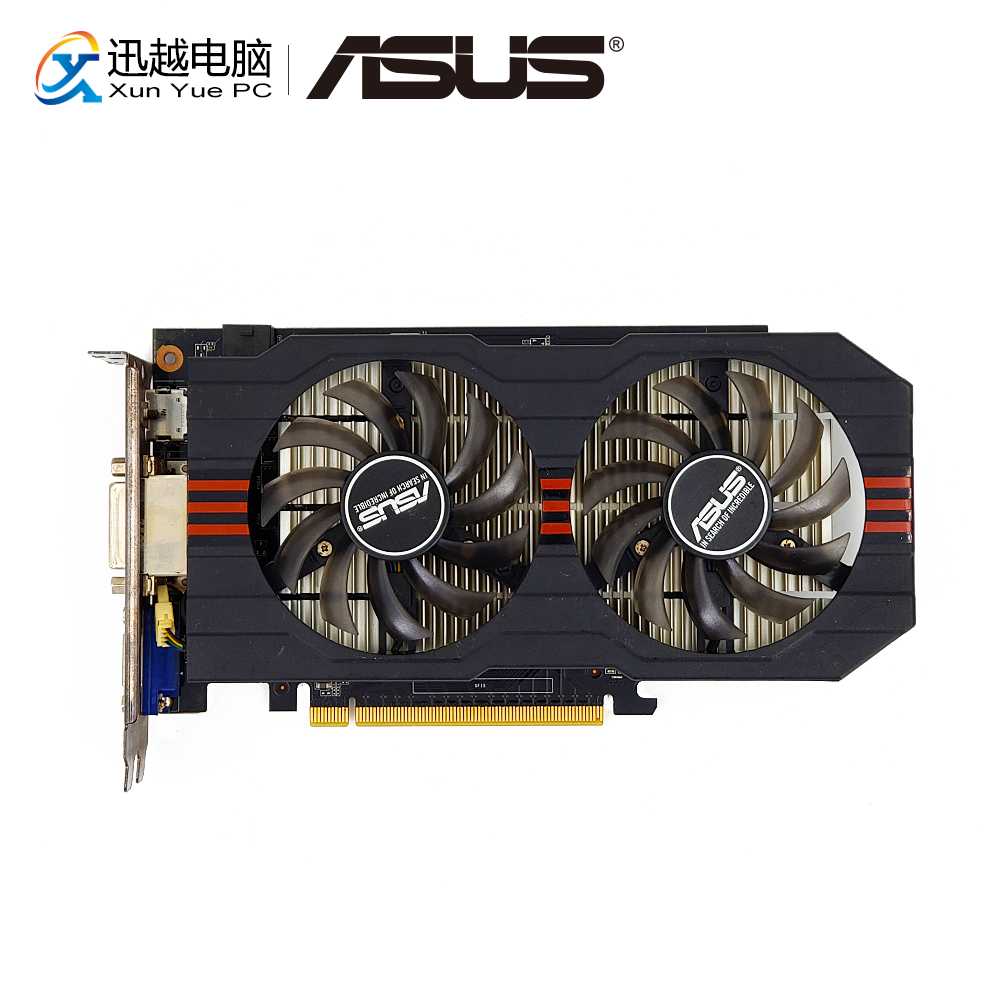 все цены на ASUS GTX-750Ti-OC-2GD5 Original Graphics Cards 128 Bit GTX 750 TI 2G GDDR5 Video Card VGA 2*DVI HDMI 1072MHz~1150MHz GTX750TI
