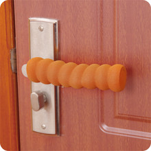 2pcs Soft Long Foam Doorknobs Safety