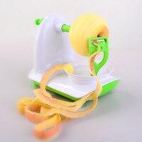 Slinky soyma makinesi + Paslanmaz Çelik Öğütücüler Dilimleme takım elma/meyve soyma ekipmanları yeni araçlar