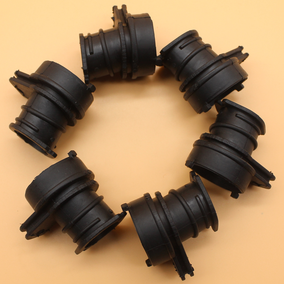 6Pcs/lot Intake Manifold Boot For HUSQVARNA 365 362 371 372 372XP Chainsaw Parts (Round Type)