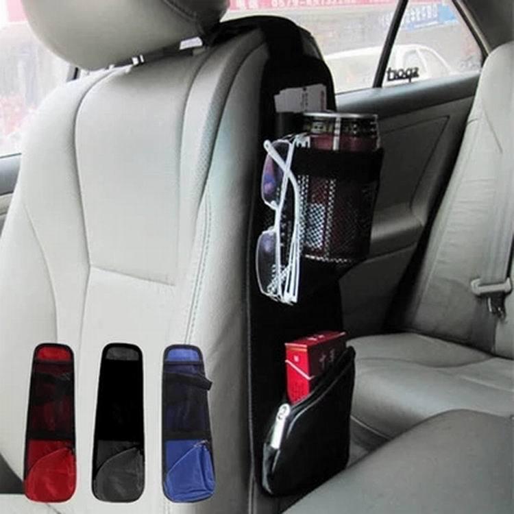 Organizer Pocket-Bags Storage-Bag Mesh Hanging Folding Auto-Seat