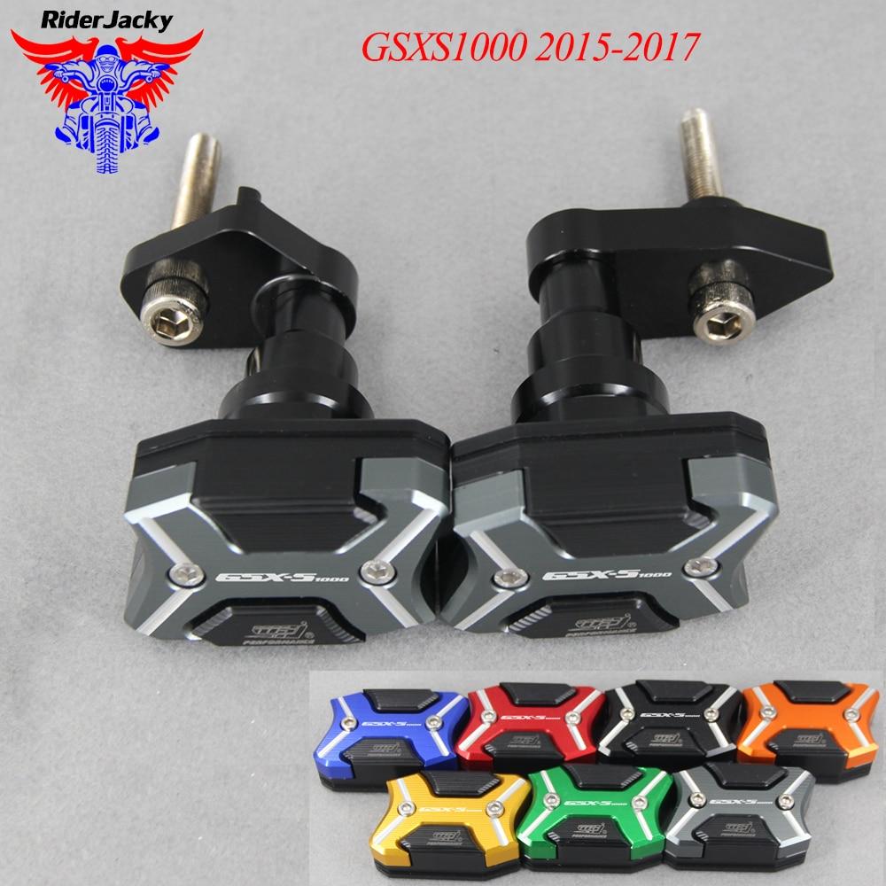 Protection de cadre protection curseur Anti-chute tampons de protection pour Suzuki GSXS1000 2015-2017 GSXS 1000 2016