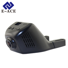 E-ACE Mini Wifi Car Dvr Dash Cam Video Recorder Camcorder 170 Degree  Full HD 1080P Dual Camera Lens Reistrator Night Version