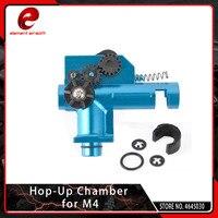 Element M4/M16 High Precision Hop Up Chamber CNC Machining Aluminum for Airsoft Marui/Dboys/JG Etc M4 AEG Softair Series