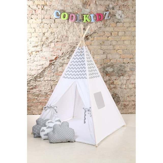 grey stripe design Childrenu0027s Teepee Play tenttipiteepee tentkids teepee tent children playhouse  sc 1 st  AliExpress & grey stripe design Childrenu0027s Teepee Play tenttipiteepee tentkids ...