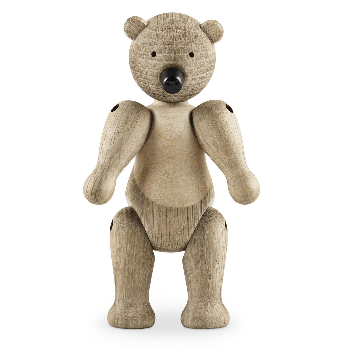 Wooden animals ornaments - Kay Bojesen Danish Wood Carving Puppet Classic Bear Ornaments Hand Puppet Bear Creative Wooden Craft For