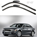 "High Quality 2X 22"" Left Right Windscreen Wiper Blade for Audi A4 B6/B7 S4 RS4 A6 MA176"