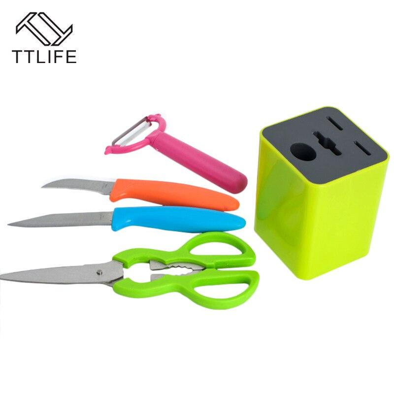 Kitchen Knife And Scissor Set