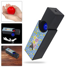 Changeable Magic Box Turning The Red Ball Into Blue Props Tricks Toys Classic