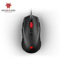 HEXGEARS GM201 6000 DPI Gamer Mouse RGB 7 Metal Button Gamer Mouse Kailh 20 Million Micro Switch Pro Gaming Mouse