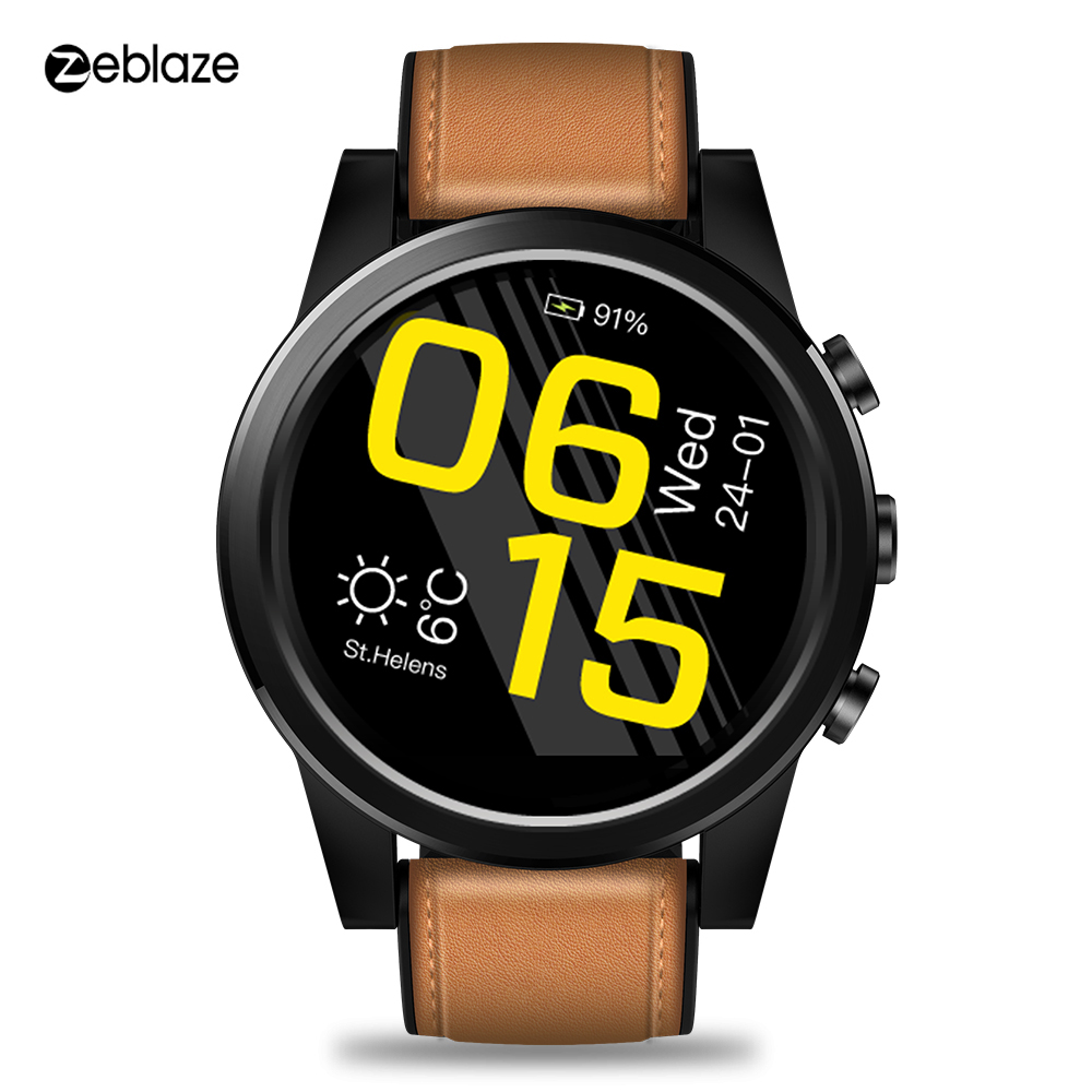 Zeblaze Thor 4 PRO 4G LTE Smart Watch women Android 16GB 1GB 5MP Camera 1 6