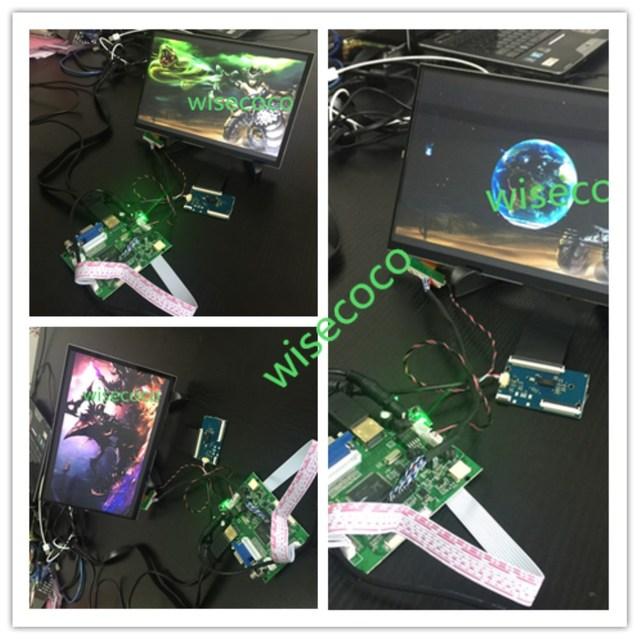 10,1 pulgadas IPS Monitor HDMI 1280*800 HD pantalla LCD pantalla táctil capacitiva panel para Raspberry Pi
